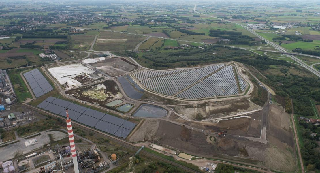 Overview of Terranova project with solar energy park